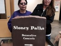 Stoney Paths Sign